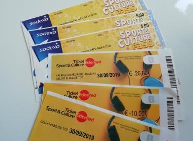 Ticket Sport&Culture Pass Edenred Sodexo